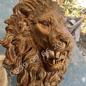 Phù điêu sư tử phun nước, đầu sư tử phun nước đẹp