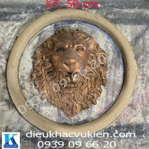 Bán Phù điêu đầu sư tử đẹp, Bán phù điêu đầu sư tử phun nước đẹp