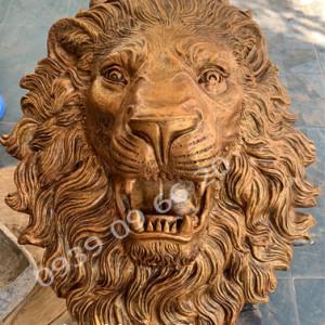 Bán đầu sư tử phun nước, bán phù điêu đầu sư tử đẹp